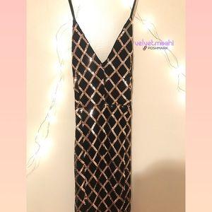 Fashion Nova Dresses - FASHION NOVA ❣️ Midnight Caller Maxi Dress ❣️🆕